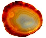 agata chalcedonu kryształ Fotografia Stock