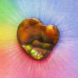 Agata del fuoco dell'arcobaleno Fotografie Stock