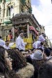 ` Agata Devotion di Agatha Sant del san Fotografia Stock Libera da Diritti