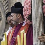 ` Agata Devotion di Agatha Sant del san Immagini Stock