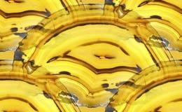 Agata Krystaliczny przekrój poprzeczny jako tło Obrazy Stock