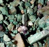 Agata ogródu skała Zdjęcie Royalty Free