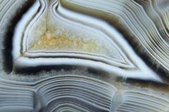Agate. Natural stone texture royalty free stock images