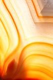 Agate ambrine Photo libre de droits