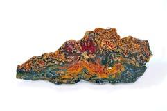 Agate avec des couleurs naturelles Photo libre de droits
