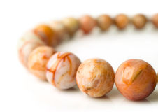 Agate beads Stock Images