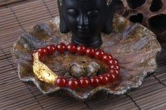Agate bracelet Stock Photo