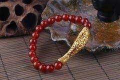 Agate bracelet Royalty Free Stock Image