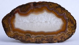 Agate de Rancho Coyamito au Mexique Photos libres de droits