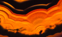 Agate macro Royalty Free Stock Photo