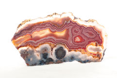 Agate mineral sample Royalty Free Stock Photography