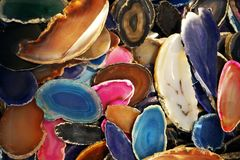 agate mineral texture royalty free stock photos