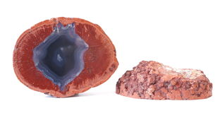 Agate in Rhyolite Royalty Free Stock Image