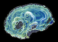 Agate slice Royalty Free Stock Photo