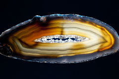 Agate slice Royalty Free Stock Images