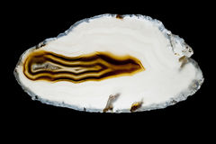 Agate slice Royalty Free Stock Photos