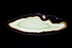 Agate slice Stock Photography