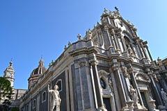 agatha大教堂圣徒 库存照片