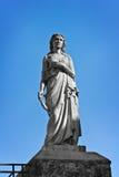 圣徒Agatha雕象  免版税库存图片