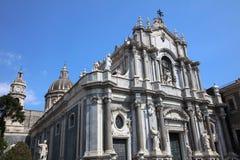 agatha Catania katedra Santa Fotografia Royalty Free