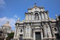 agatha Catania katedra Santa Zdjęcia Royalty Free