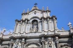 agatha Catania katedra Santa Fotografia Stock