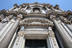 agatha Catania katedra Santa Zdjęcie Stock