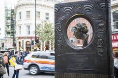 Agatha Christie-gedenkteken Royalty-vrije Stock Afbeeldingen