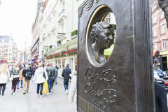 Agatha Christie memorial Stock Images