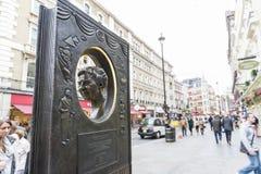 Agatha Christie pomnik Fotografia Stock