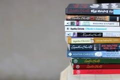 Free Agatha Christie`s Books Stock Photo - 199701380