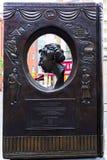 Agatha Christie statua w Londyn, UK Zdjęcie Stock