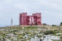 agatha także Malty jak czerwono s st wieży Zdjęcie Royalty Free