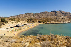 Agathi plaża Fotografia Royalty Free