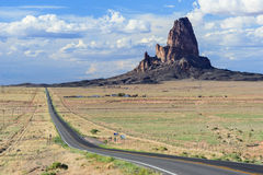 Agathla Peak also known as El Capitan in Monument Valley near Kayenta Arizona Stock Photography