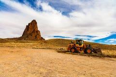 Agathla szczyt Arizona Zdjęcia Stock