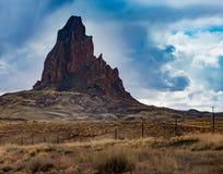 Agathla szczyt blisko Kayenta Arizona Obraz Stock