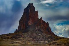 Agathla szczyt blisko Kayenta Arizona Zdjęcia Stock