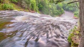 Agatnedgångar, agat faller den sceniska platsen, MI Royaltyfria Foton