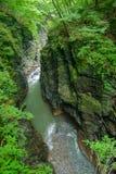 Agatsuma dolina w Gunma, Japonia Zdjęcie Royalty Free