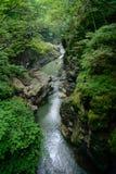 Agatsuma dolina w Gunma, Japonia Zdjęcia Royalty Free