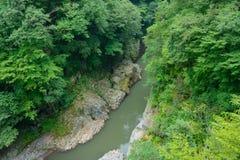 Agatsuma dolina w Gunma, Japonia Fotografia Stock