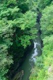 Agatsuma dolina w Gunma, Japonia Zdjęcia Stock
