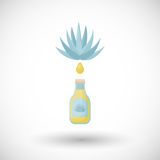 Agave syrup  flat icon Stock Images