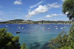Agay, Cote d Azur, Provence, Francja obraz royalty free