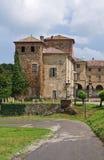 agazzano grodowy Emilia Italy romagna Zdjęcia Royalty Free