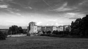 Agazzano-Schloss Stockbilder