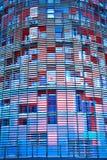 agbar接近的新的摩天大楼torre 库存图片