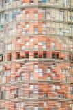 agbar πύργος της Βαρκελώνης Στοκ Εικόνες