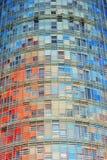 agbar Barcelona fasady torre Zdjęcie Royalty Free